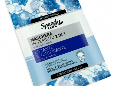 2 in 1 Sheet Mask: Lifting & Toning