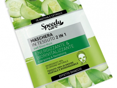 2 in 1 Sheet Mask: Energizing & Revitalizing