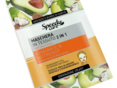 2 in 1 Sheet Mask: Moisturizing & Nourishing